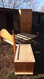 Job lot pine furniture.