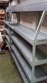 van internal shelving racks (master/movano/interstar)