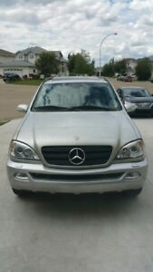 2003 Mercedes Ml 350 PRICE REDUCED FOR QUICK SALE