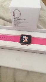 Apple iWatch Sport Series 1 - Rose Gold **Immaculate**