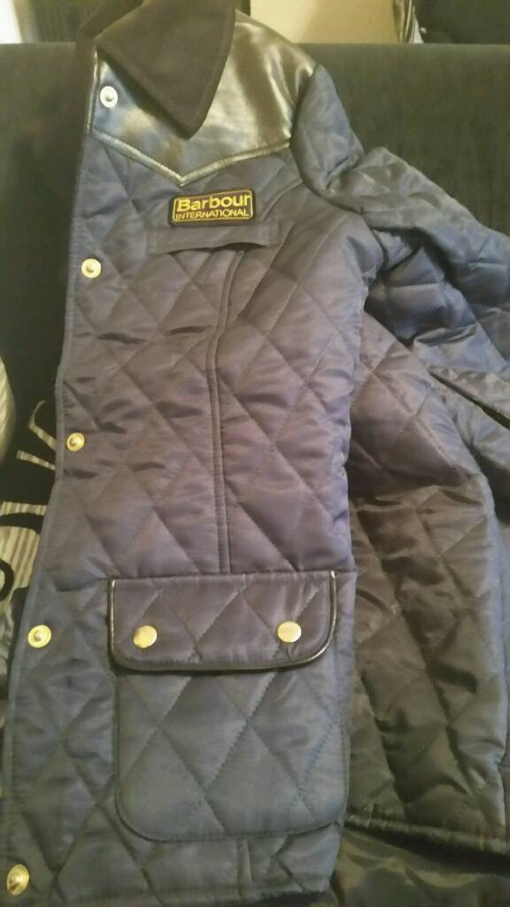Women Barbour internation designer coat