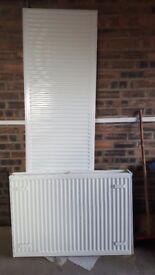 2 radiators 2m × 600mm & 1m x 700mm