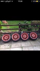 """17"""" wheels multi fit"""