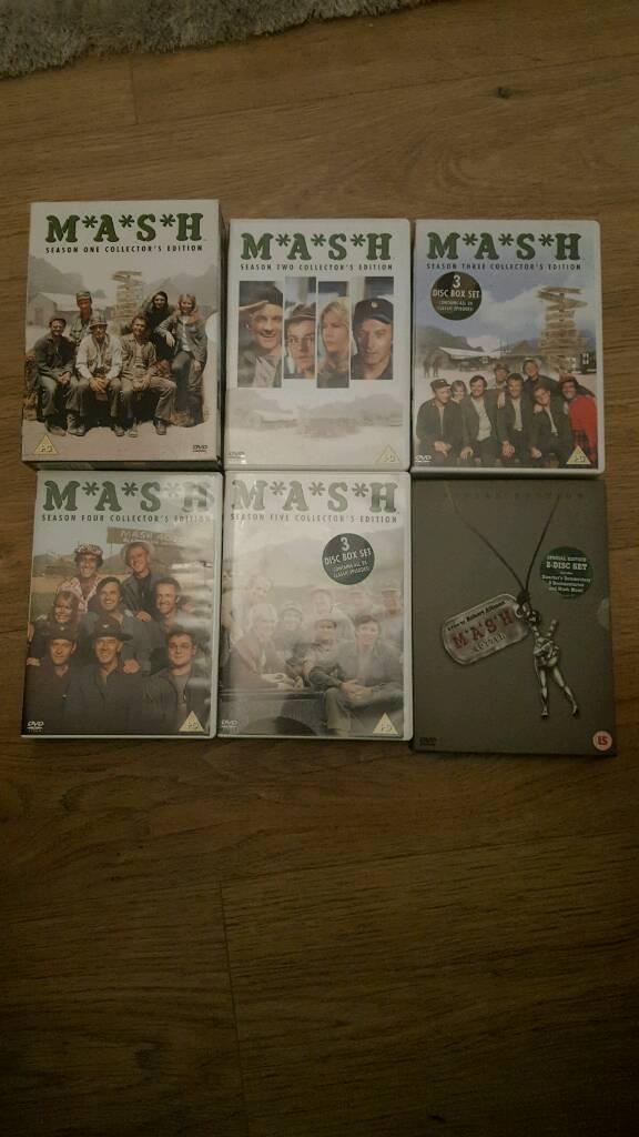 MASH DVD'S