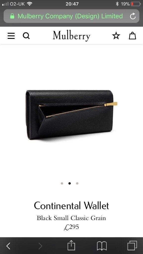 ea7097b5a4bd ... australia mulberry continental wallet purse 709d9 a2b8e