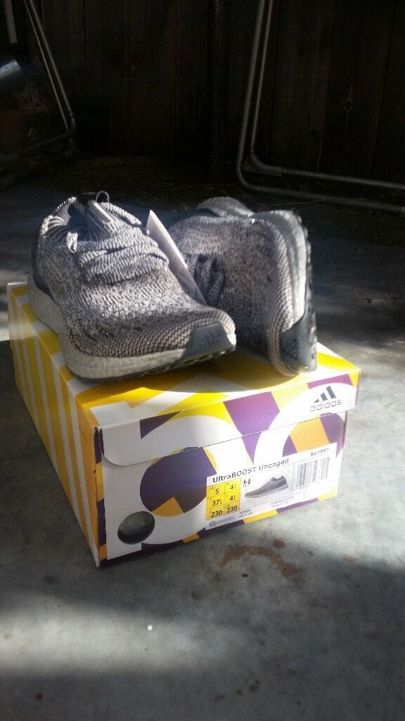 ultra boost ungaged silver metallic uk 4.5, 5 and 5.5 available