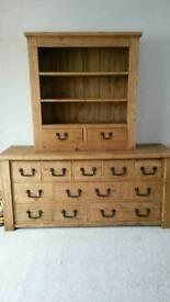 Bentalls Russian Pine Dresser