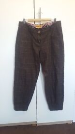 Original Desigual Ankle Trousers - Wool size: L
