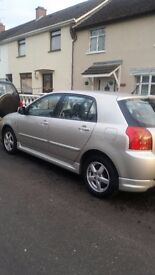 2004 toyota corolla for sale ex condition inside and outout