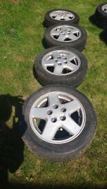 Rare Toyota MR2 Mk2 alloys in good condition