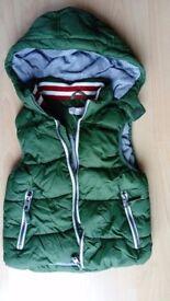Boy's Green L.O.G.G. Body Warmer Age 6 - 7