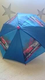 Child's cabinet cars umbrella