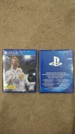 Fifa 18 PS4 +14 day trial brand new sealed