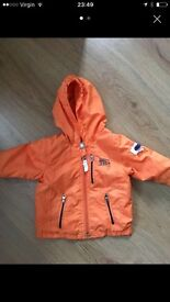 Baby boys timberland coat-like new age 0-3 months