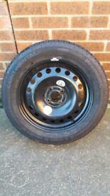 Wheel and brand new continental tyre 185/65/15