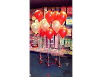 Helium Balloon Arrangement Party Wedding
