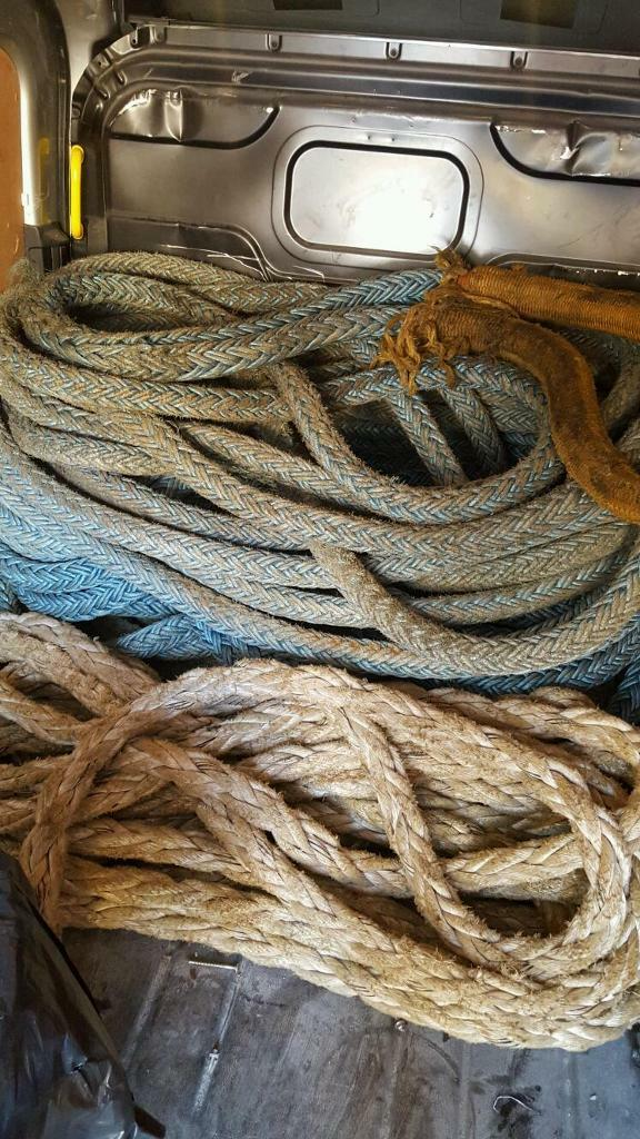 Thick Ship mooring rope | in Weston-super-Mare, Somerset | Gumtree