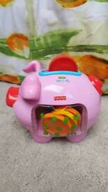 Fisher price laugh n learn piggy bank