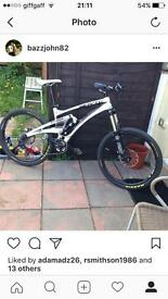 Whyte 146s full carbon fibre big spec breaking or if your quick will sell whole bike