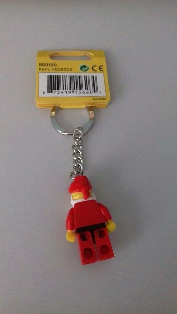 BRAND NEW LEGO SEASONAL SANTA CLAUS CLASSIC KEY CHAIN (850150)