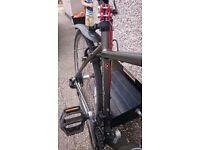 "Carrera mens hybrid bike - Aluminum 20"" frame"