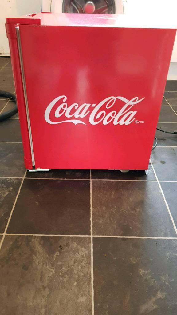 Coca Cola 50l Mini Fridge With Glass Door In Linwood Renfrewshire
