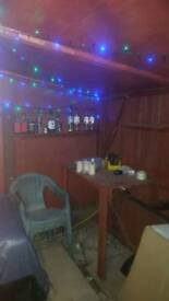 Garden Bar Open Front with Electrics