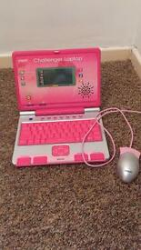 Vetch challenger laptop with mouse