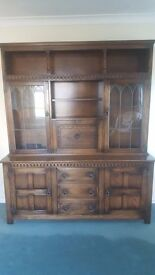 Stunning Solid Oak Welsh Dresser/Display