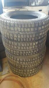 LT275/70R18 Studded Cooper Discoverer M+S dedicated winter tire. Prince George British Columbia Preview