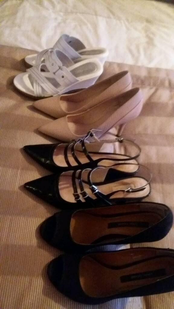 Shoes & Sandles -various -Size 4