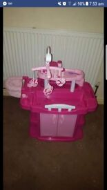 Dolls nursery with accessories