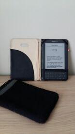 Amazon Kindle Keyboard 4GB D00901 WiFi + 3G eReader