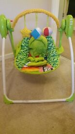 0-6 months baby swinging chair with sounds