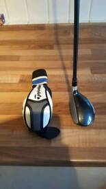 Taylormade SLDR 3 Hybrid. Tour Spec Stiff Shaft. Left handed