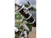 Telescope and mount