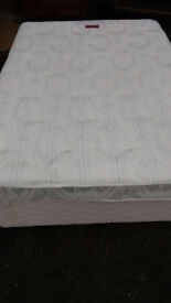 Double Divan Bed with Mattress with fast FREE delivery. hardly used , really clean , with 2 draws