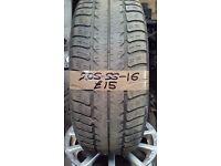 205-55-16 Hankook 91H 3.5mm Part Worn Tyre