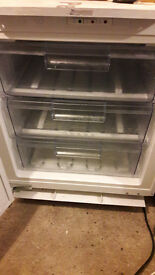 **NEFF**UNDERCOUNTER FREEZER**FROST FREE**INTEGRATED**ONLY £80**COLLECTION\DELIVERY**NO OFFERS**