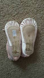 Brand new Baby ballet shoes size 6