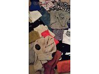 Job lot bundle ladies and boys clothes