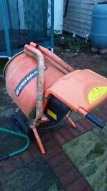 Cement mixer in good condition
