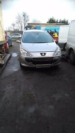 Peugeot 307 breaking for spares