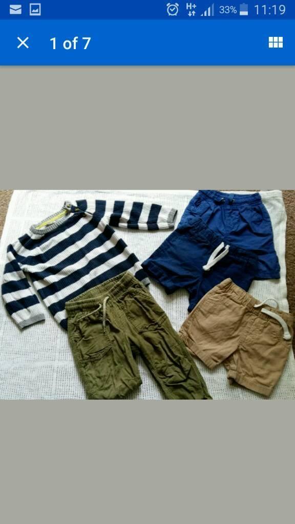 Boys small bundle 12-18 months