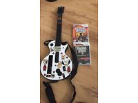 Guitar hero for wii - collection only