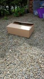 60 Cardboard boxes 16cm x 34cm x47cm
