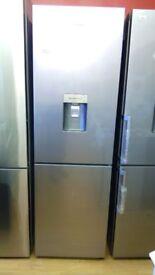 SAMSUNG silver Fridge Freezer Ex display