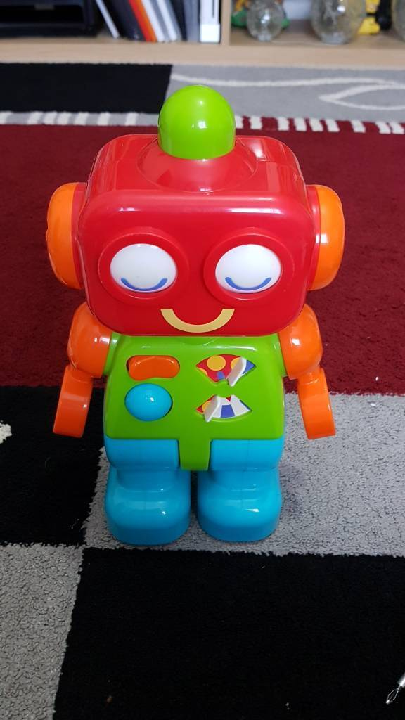 Kids click clack robot with sounds from ELC