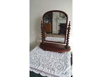 Lovely Victorian Mirror vgc