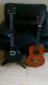 Guitar's and accessories for sale